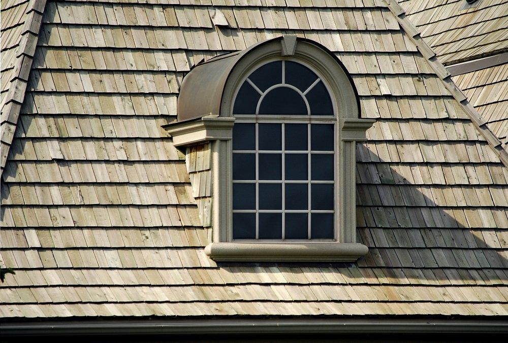 Wood Shingles around Window