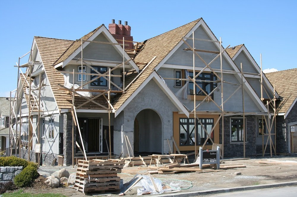 roof repair on a big home in Acton MA