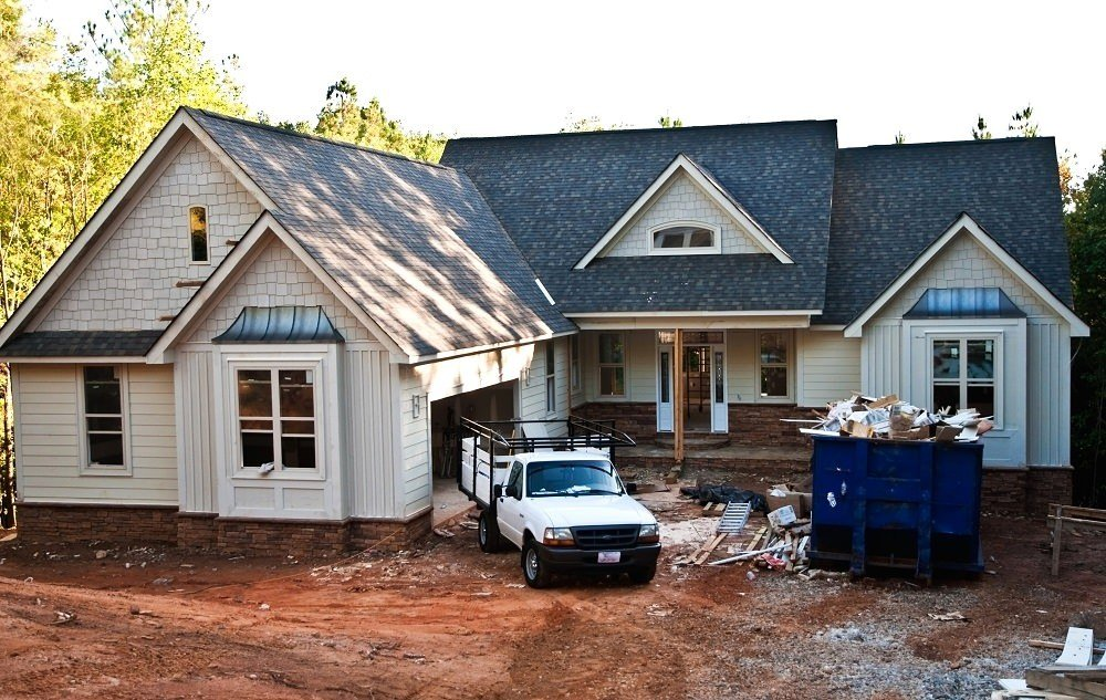 Roof Replacement Services on a home in Concord MA